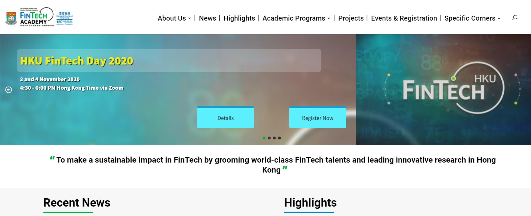 FinTech Academy Official Website